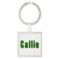 Callie Grass Square Keychain