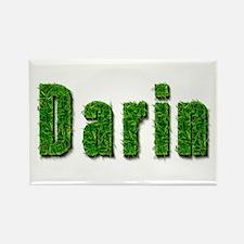 Darin Grass Rectangle Magnet