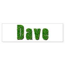 Dave Grass Bumper Bumper Sticker