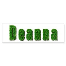 Deanna Grass Bumper Bumper Sticker