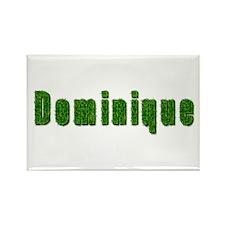 Dominique Grass Rectangle Magnet