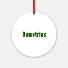Demetrius Grass Round Ornament