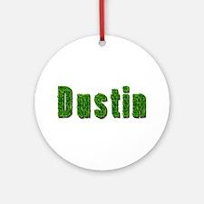 Dustin Grass Round Ornament