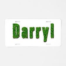 Darryl Grass Aluminum License Plate