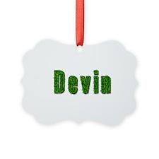 Devin Grass Ornament
