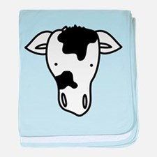 Cow Head baby blanket