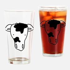 Cow Head Drinking Glass