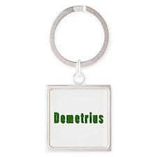 Demetrius Grass Square Keychain