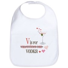 V Is For Vodka Bib