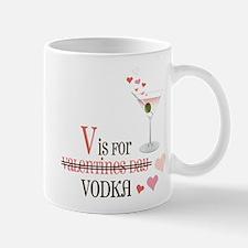 V Is For Vodka Mug