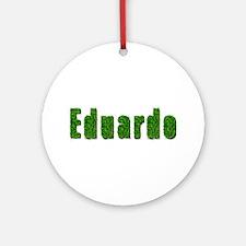 Eduardo Grass Round Ornament