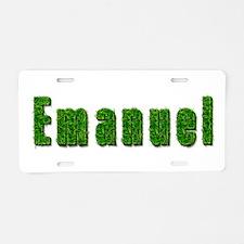 Emanuel Grass Aluminum License Plate