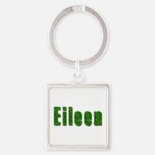 Eileen Grass Square Keychain