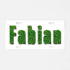 Fabian Grass Aluminum License Plate