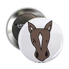 """Horse Lover 2.25"""" Button"""