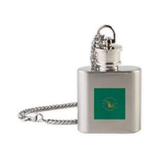 Unique Sinn fein Flask Necklace