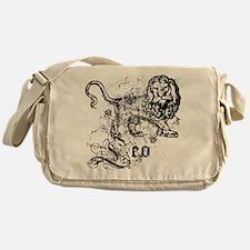 Worn Zodiac Leo Messenger Bag