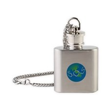 S.O.S. Flask Necklace