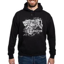 Worn Zodiac Taurus Hoodie