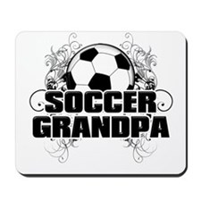 Soccer Grandpa (cross).png Mousepad
