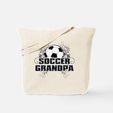 Soccer Grandpa (cross).png Tote Bag