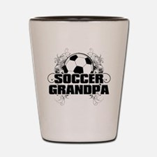 Soccer Grandpa (cross).png Shot Glass