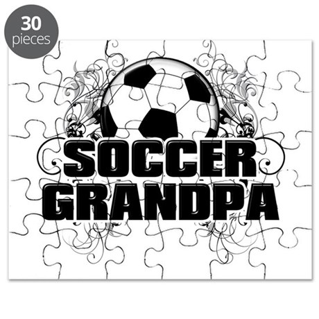 Soccer Grandpa (cross).png Puzzle