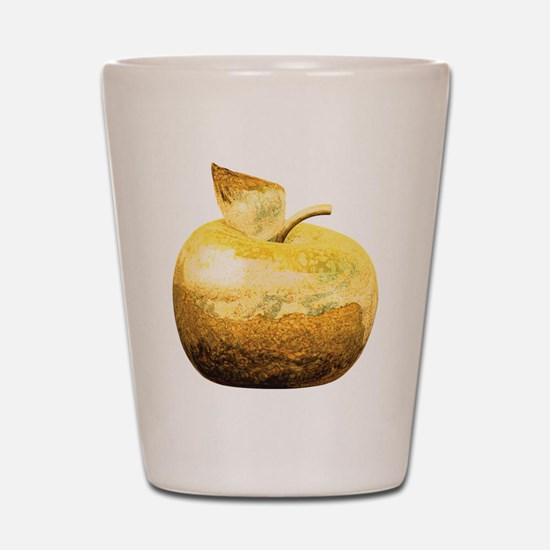 Golden Apple Shot Glass