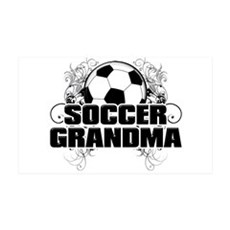 Soccer Grandma (cross).png Wall Decal