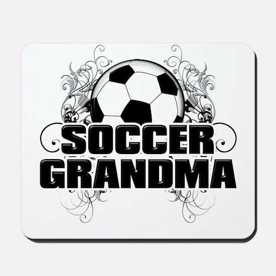 Soccer Grandma (cross).png Mousepad