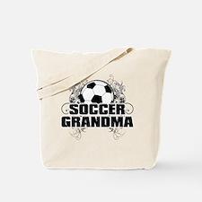 Soccer Grandma (cross).png Tote Bag