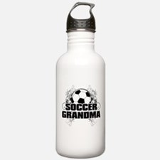 Soccer Grandma (cross).png Water Bottle