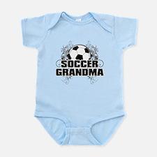 Soccer Grandma (cross).png Infant Bodysuit