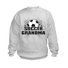 Soccer Grandma (cross).png Sweatshirt