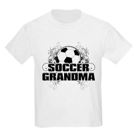 Soccer Grandma (cross).png Kids Light T-Shirt