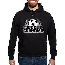 Soccer Grandma (cross).png Hoodie