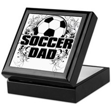Soccer Dad (cross) copy.png Keepsake Box