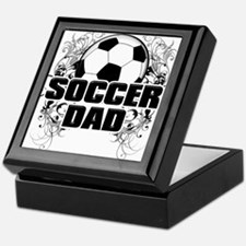 Soccer Dad (cross) copy.png Keepsake Box