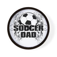 Soccer Dad (cross) copy.png Wall Clock