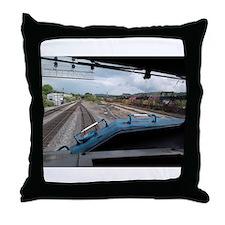 Conrail Ride Along Throw Pillow