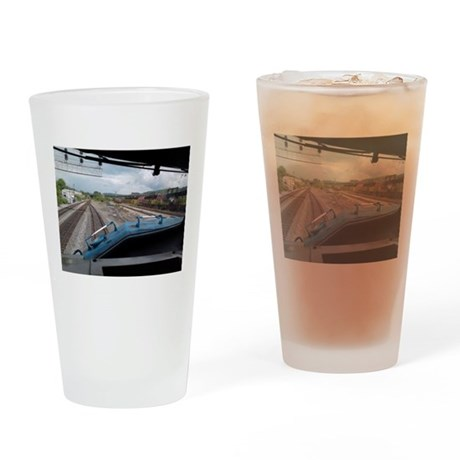 Conrail Ride Along Drinking Glass