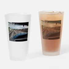 Conrail Ride Along Drinking Glass