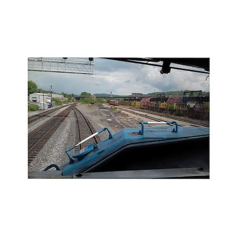 Conrail Ride Along Rectangle Magnet