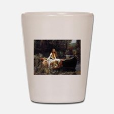 The Lady Of Shalott Shot Glass