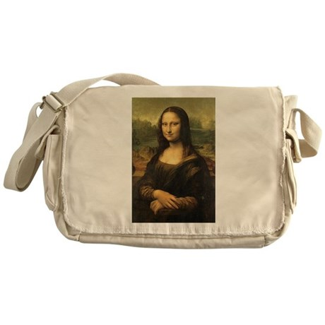 Mona Lisa Messenger Bag