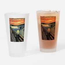 The Scream Drinking Glass