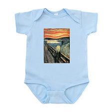 The Scream Infant Bodysuit