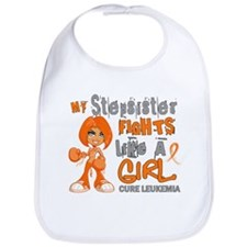 Fights Like a Girl 42.9 Leukemia Bib