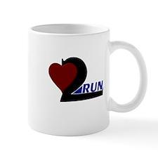 Heart 2 Run Mug
