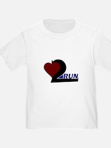 Heart 2 Run T